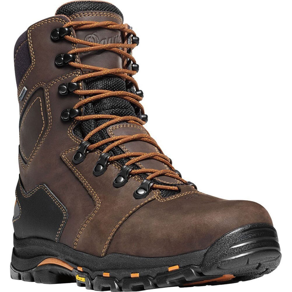 Image for Danner Men's Vicious 8 Work Boots - Brown from bootbay