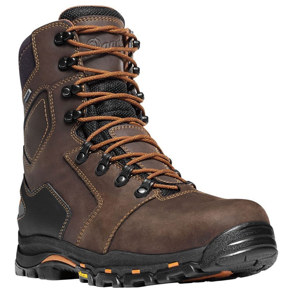 Image for Danner Men's Vicious 8 CT Safety Boots - Brown from bootbay
