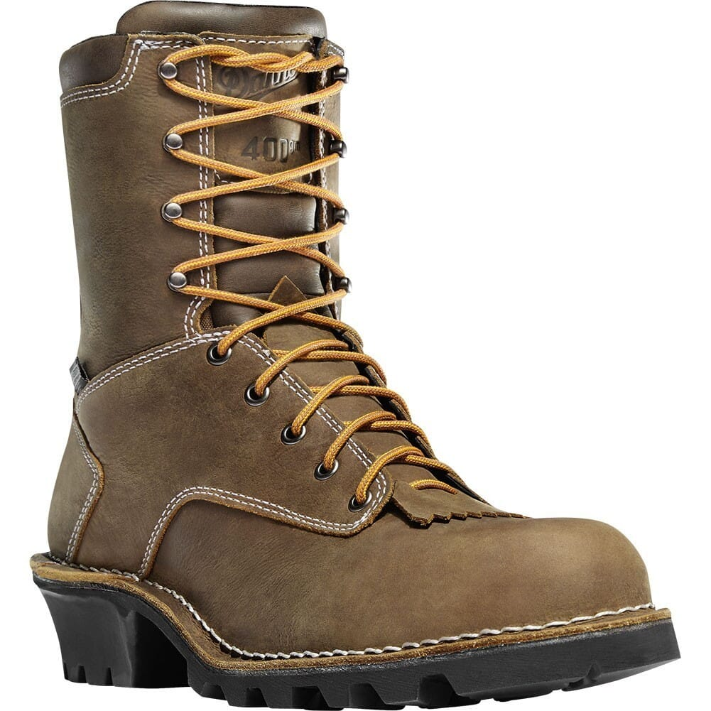 Image for Danner Men's WP 400G CT Safety Loggers - Brown from bootbay