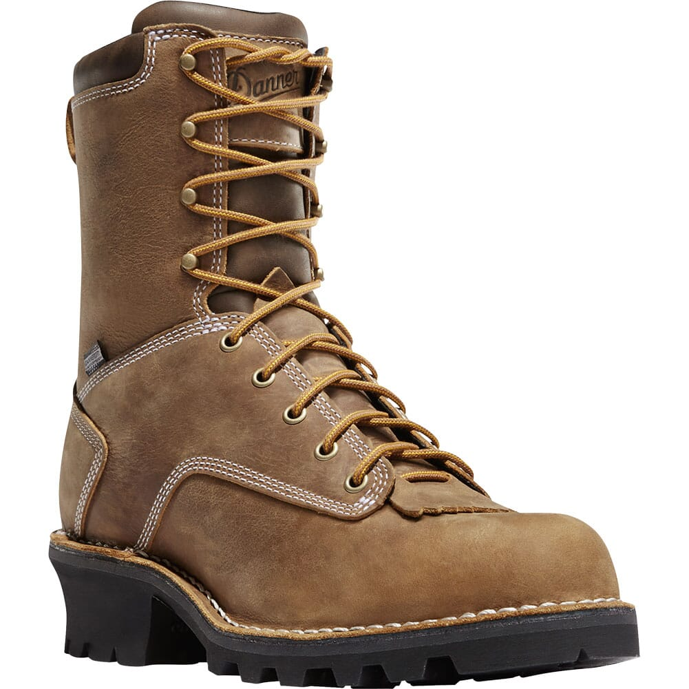 Image for Danner Men's Traditional Work Loggers - Brown from bootbay