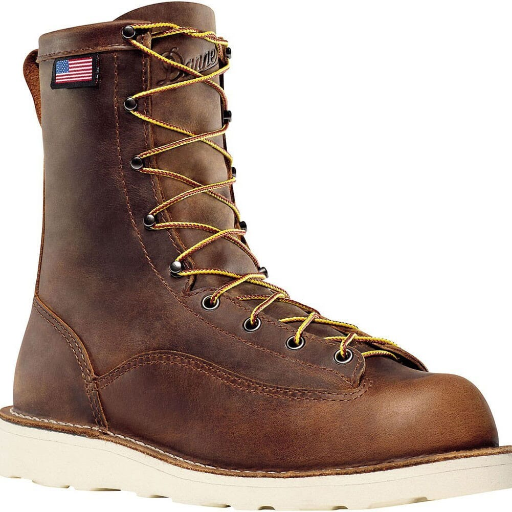 Image for Danner Men's Bull Run Work Boots - Brown from bootbay