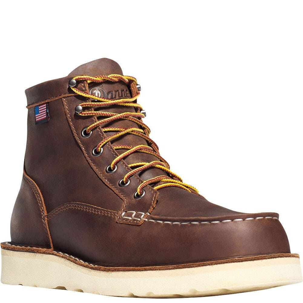 Image for Danner Men's Bull Run Safety Boots - Brown from bootbay