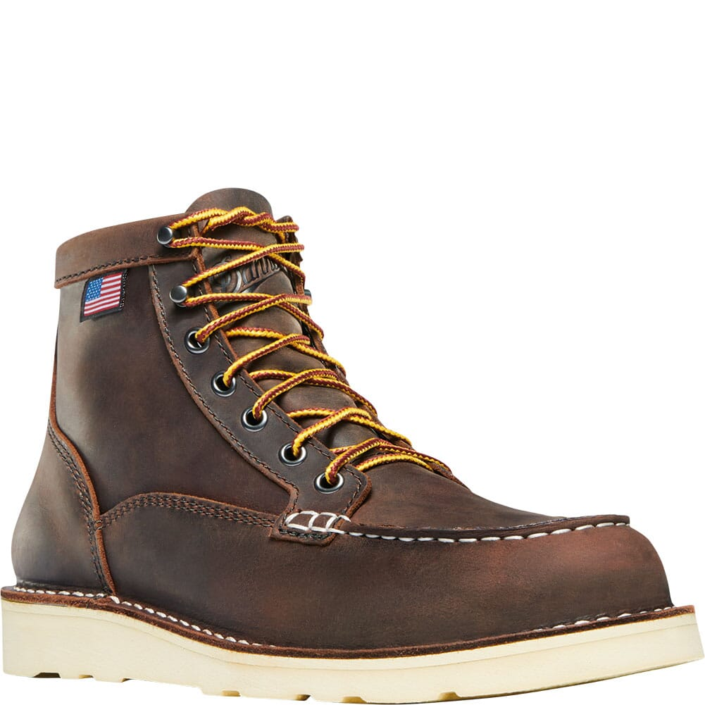 Image for Danner Women's Bull Run EH Work Boots - Brown from elliottsboots