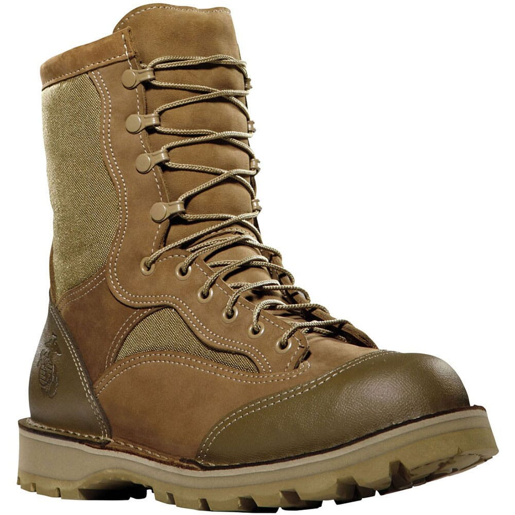 Image for Danner Men's USMC RAT Hot Safety Boots - Brown from bootbay