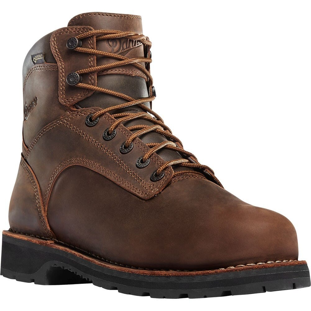 Image for Danner Men's Workman 6IN EH GTX Work Boots - Brown from bootbay