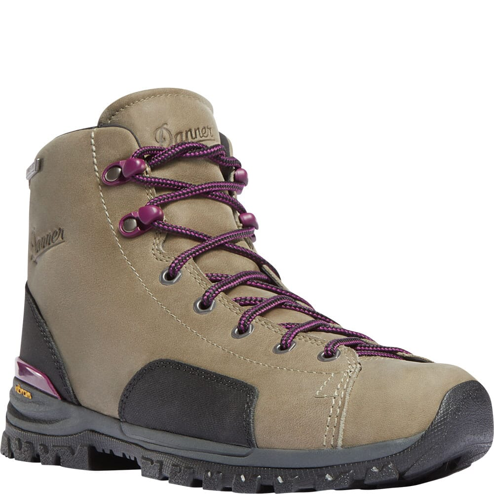 Image for Danner Women's Stronghold Work Boots - Gray from elliottsboots
