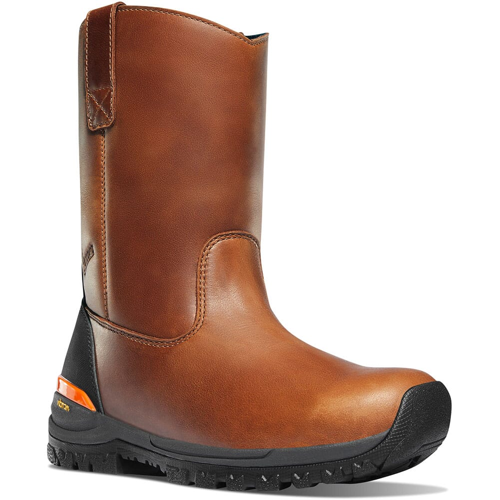 Image for Danner Men's Stronghold Work Boots - Brown Hot from bootbay