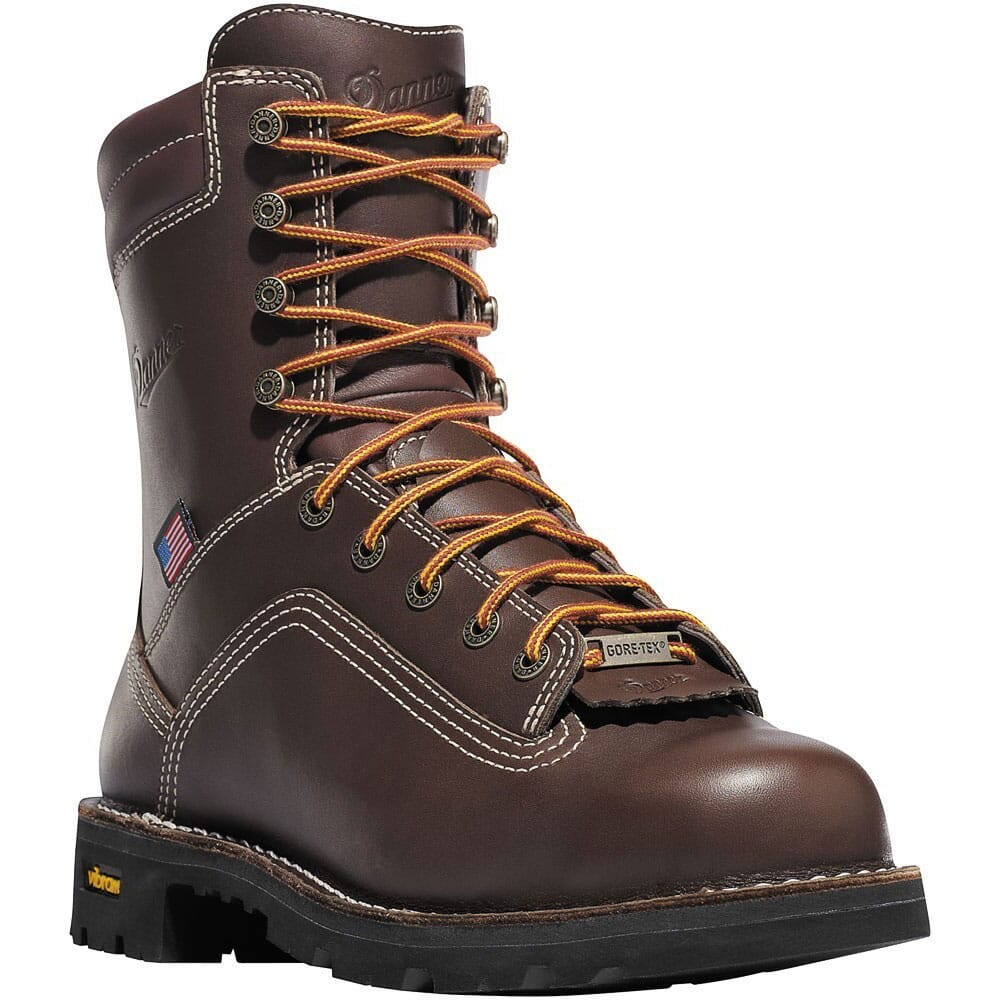 Image for Danner Men's Quarry Alloy 8IN Safety Boots - Brown from bootbay