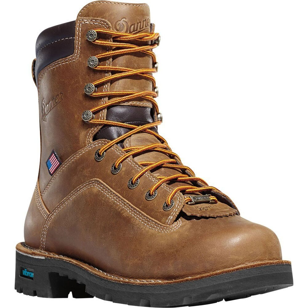 Image for Danner Men's Quarry 400G Work Boots - Distressed Brown from bootbay