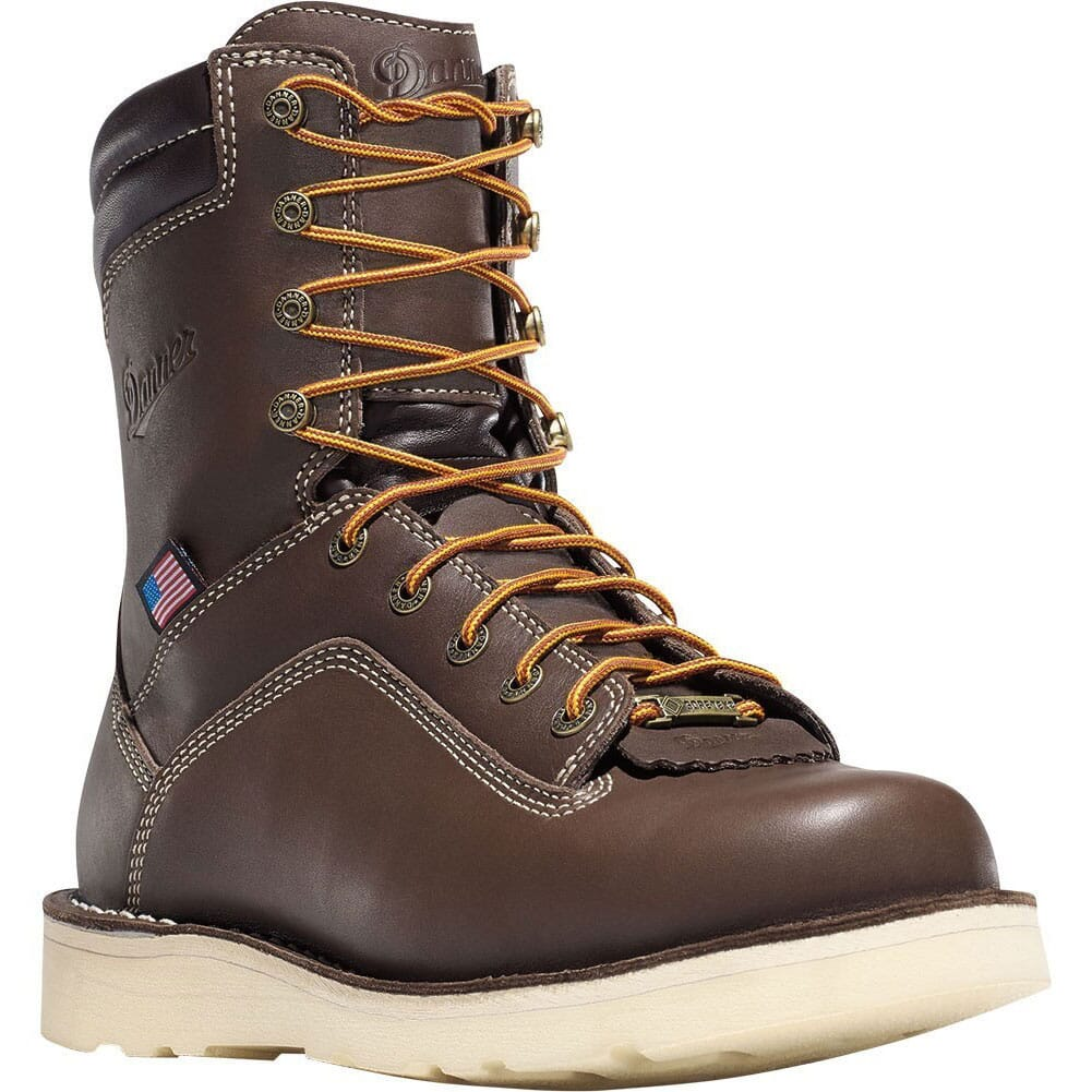 Image for Danner Men's Quarry USA AT Safety Boots - Brown from bootbay