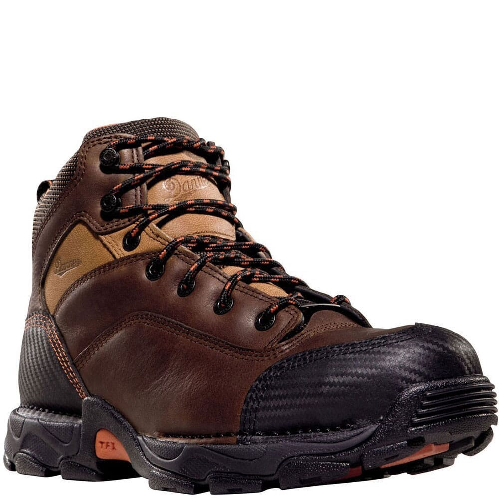 Image for Danner Men's Corvallis Safety Boots - Brown from bootbay