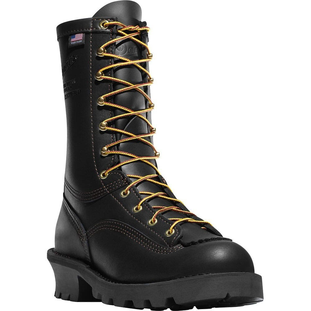 Image for Danner Men's Flashpoint II All Leather Work Boots - Black from bootbay