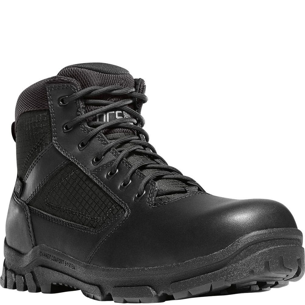 Image for Danner Men's Lookout Side-Zip Safety Boots - Black from bootbay