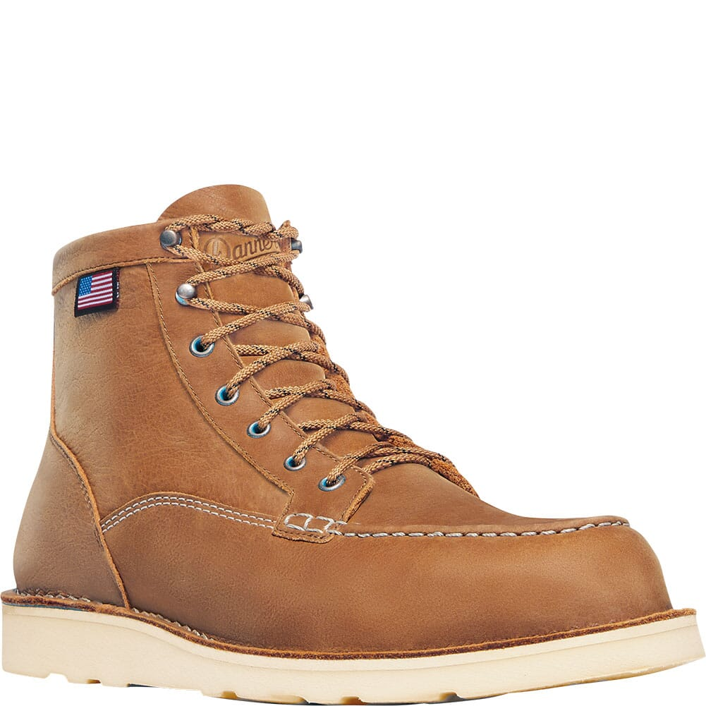 Image for Danner Men's Bull Run Lux Safety Boots - Sunstone from bootbay