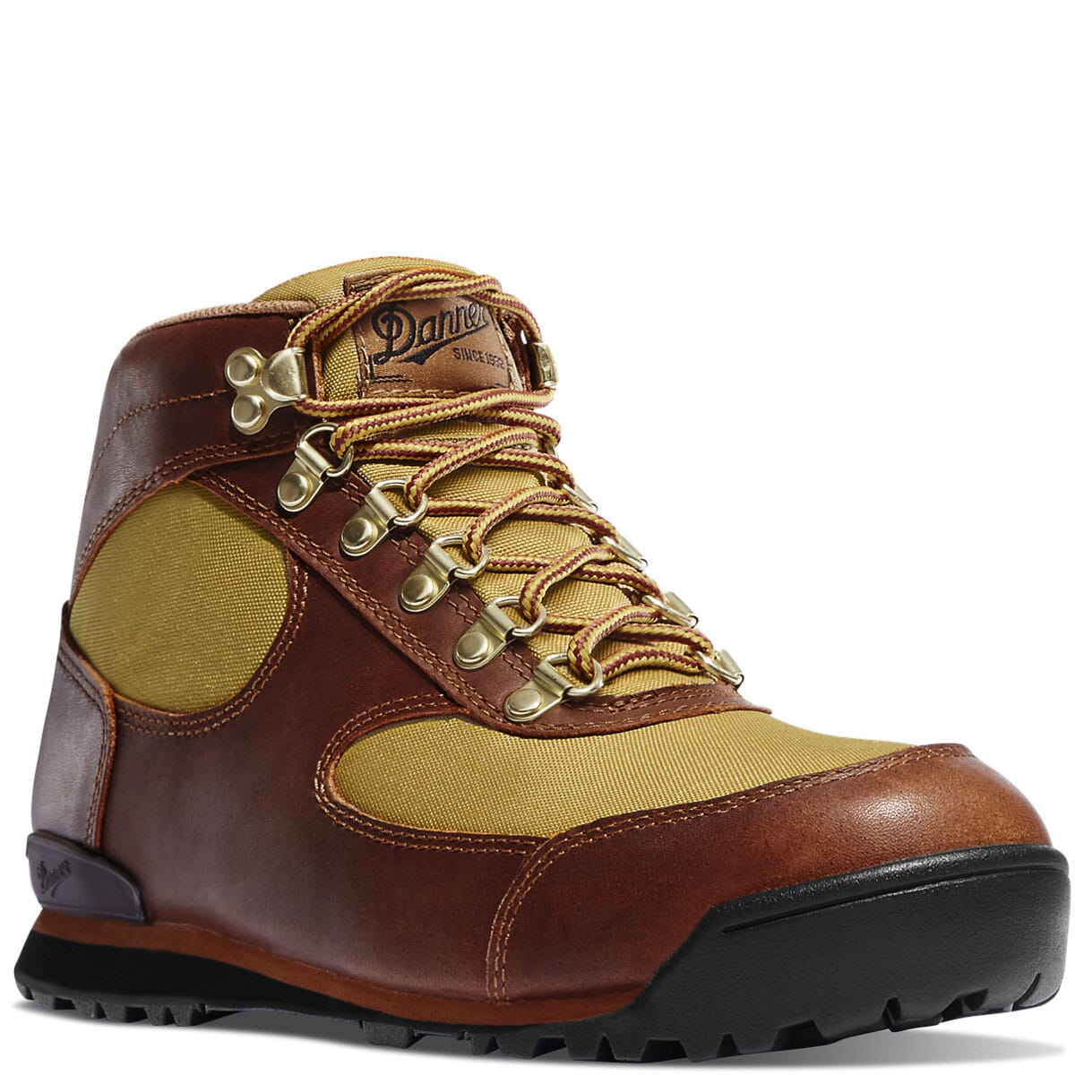 Image for Danner Women's Jag Hiking Boots - Brown/Khaki from elliottsboots