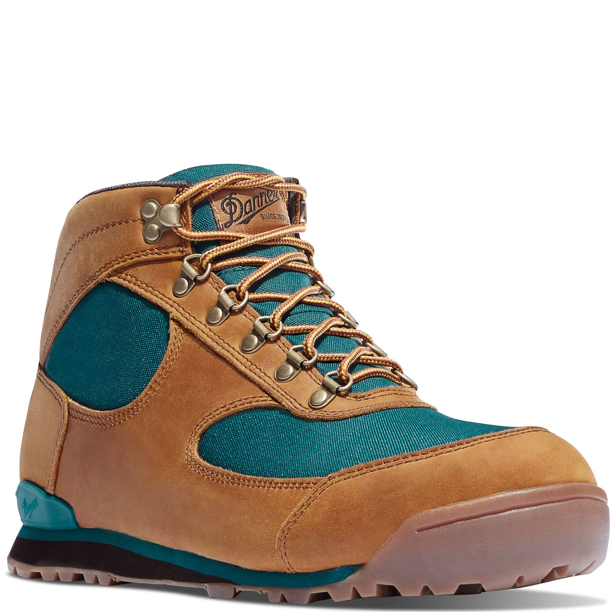 Image for Danner Women's Jag Hiking Boots - Distressed Brown/Deep Teal from elliottsboots