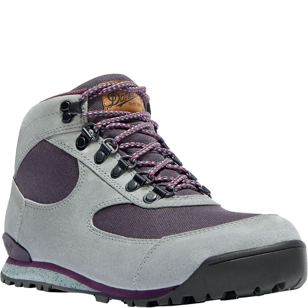 Image for Danner Women's Jag Hiking Boots - Dusty/Aubergine from bootbay