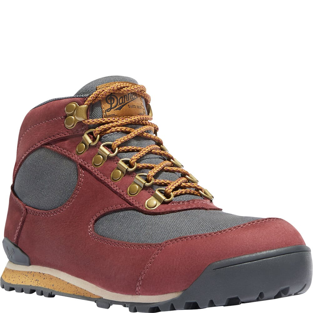 Image for Danner Women's Jag Hiking Boots - Sangria/Storm from elliottsboots