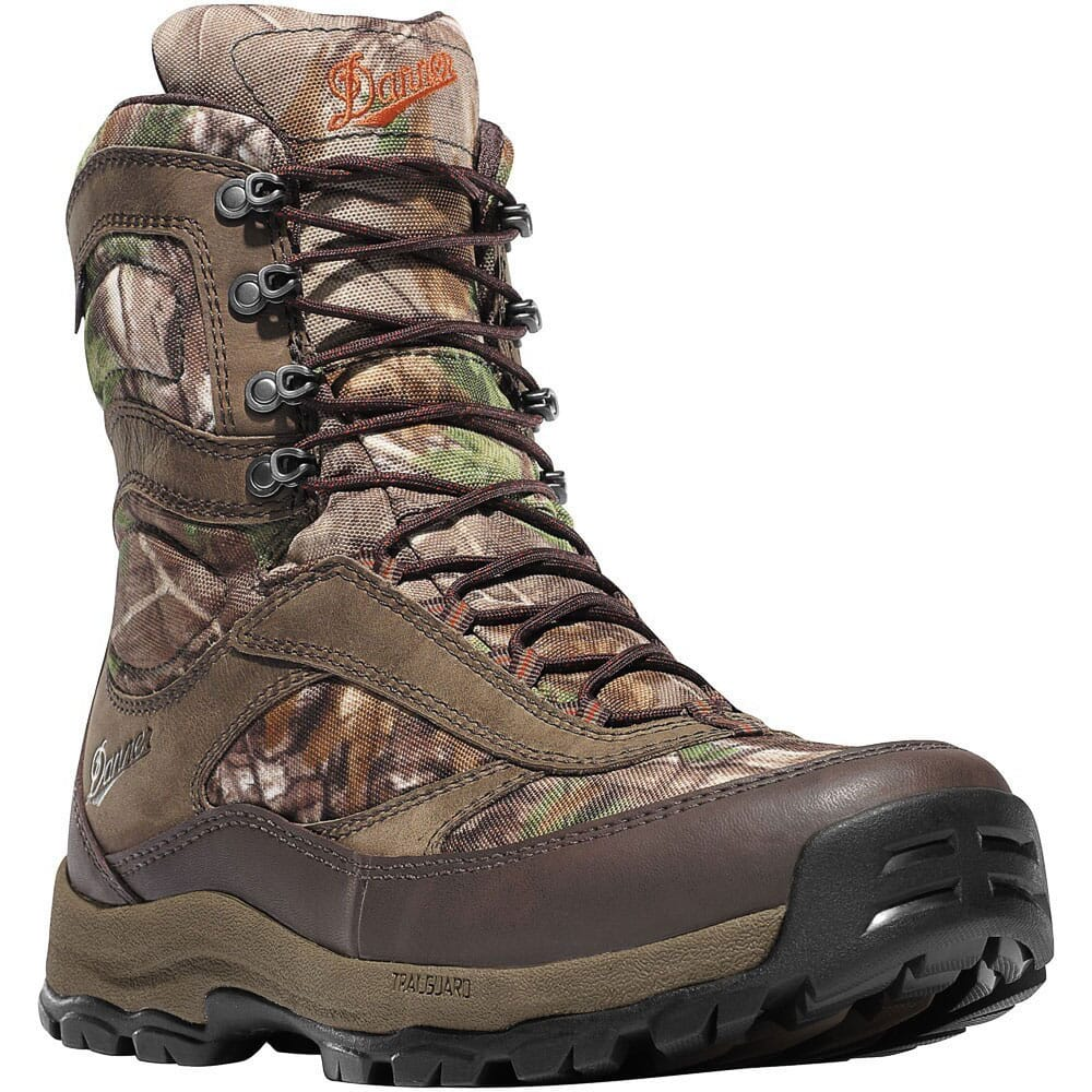 Image for Danner Men's High Ground Hunting Boots - RealTree from bootbay