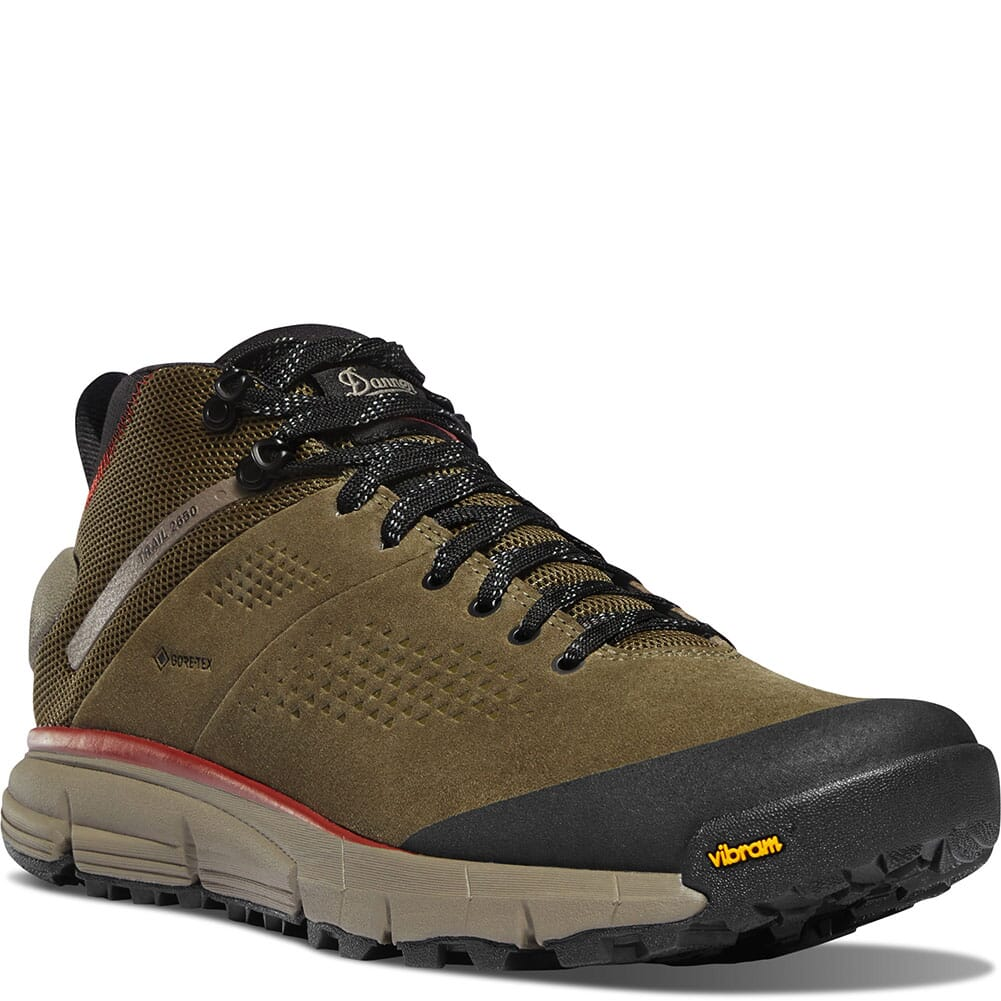Image for Danner Men's Trail 2650 GTX Mid Hiking Shoes - Dusty Olive from bootbay