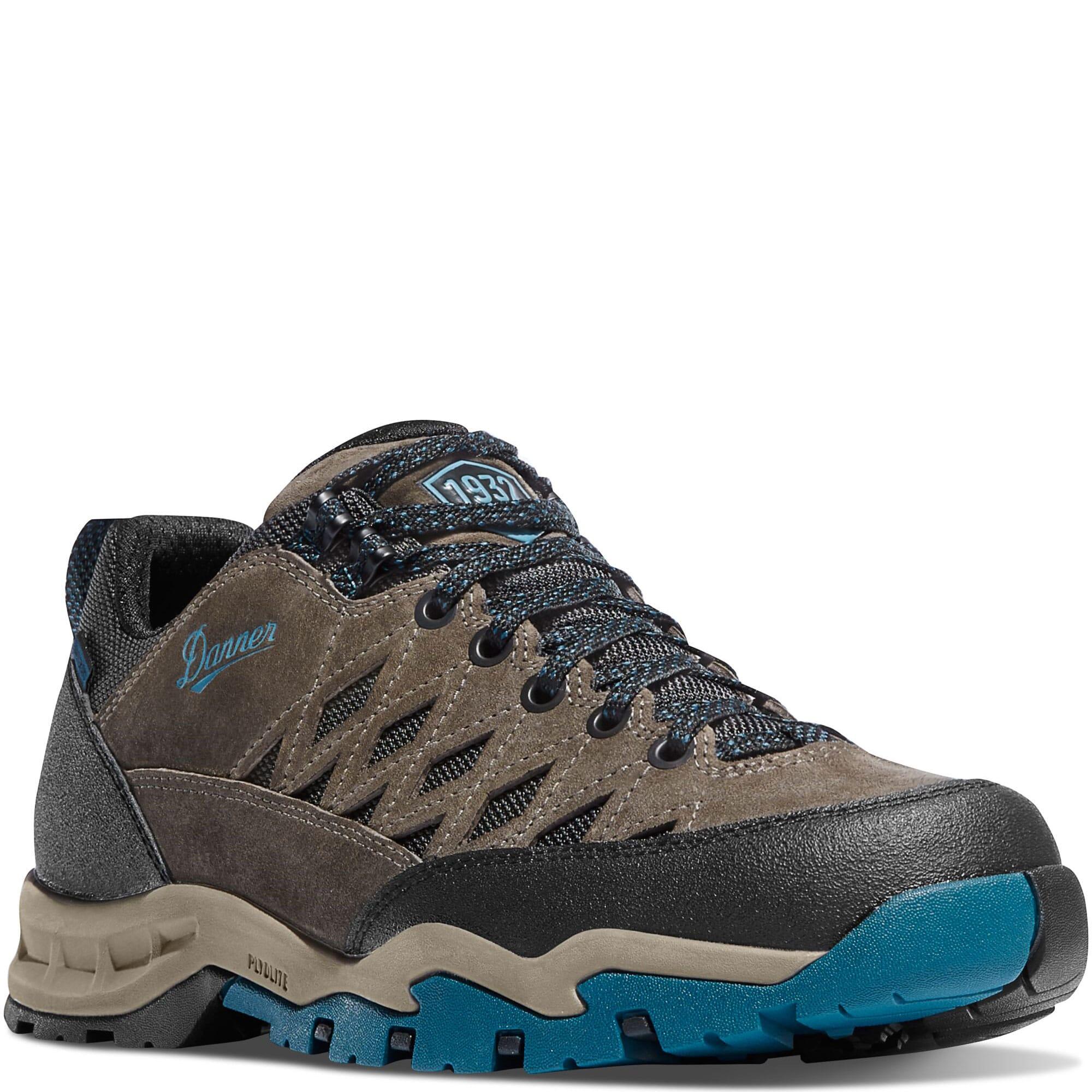 Image for Danner Men's TrailTrek Hiking Boots - Gray/Blue from bootbay