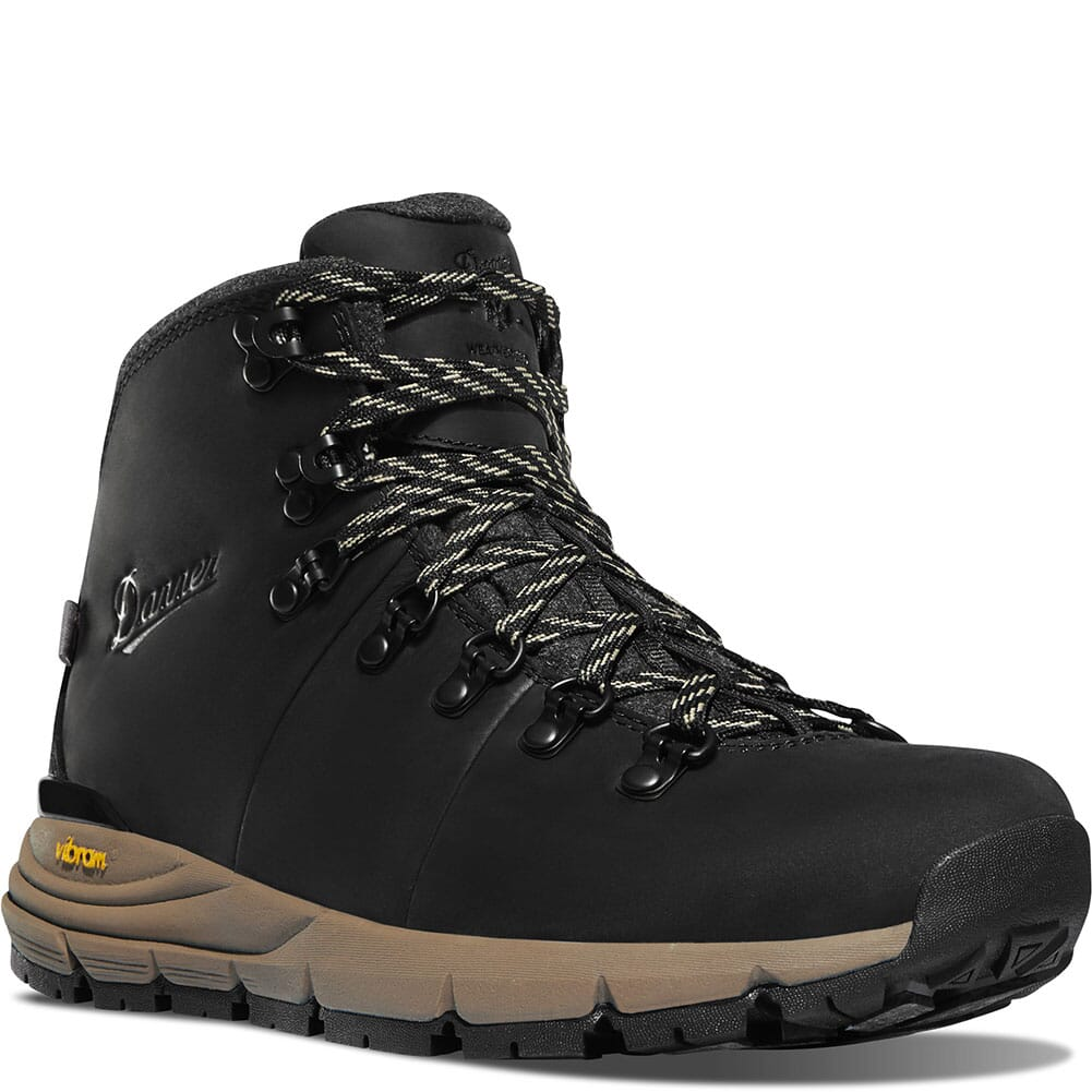 Image for Danner Women's Mountain 600 Insulated Hiking Boots - Jet Black/Taupe from bootbay