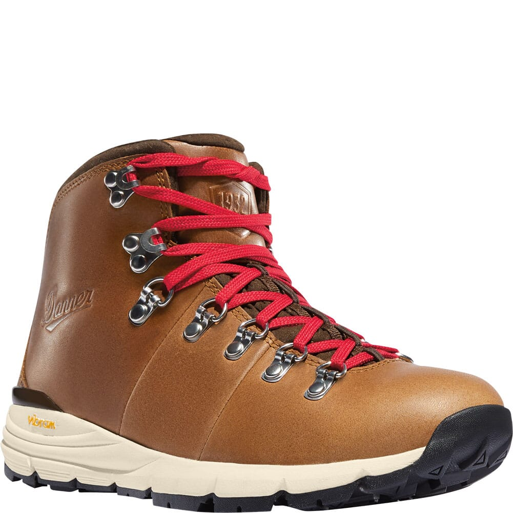 Image for Danner Women's Mountain 600 Hiking Boots - Saddle Tan from elliottsboots