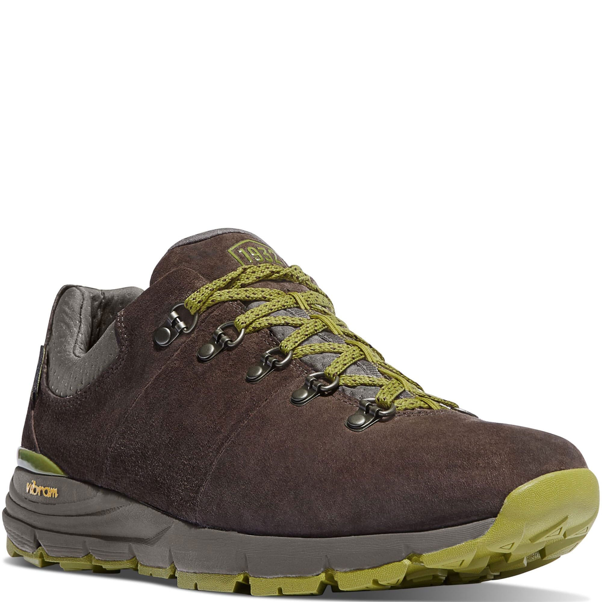 Image for Danner Men's Mountain 600 Low Hiking Shoes - Dark Brown/Lichen from bootbay