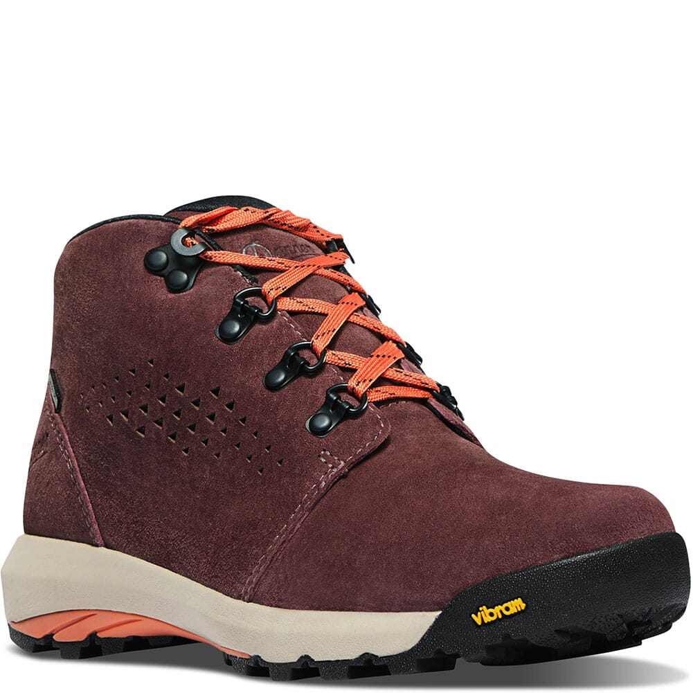 Image for Danner Women's Inquire Hiking Chukka - Mauve/Salmon from bootbay