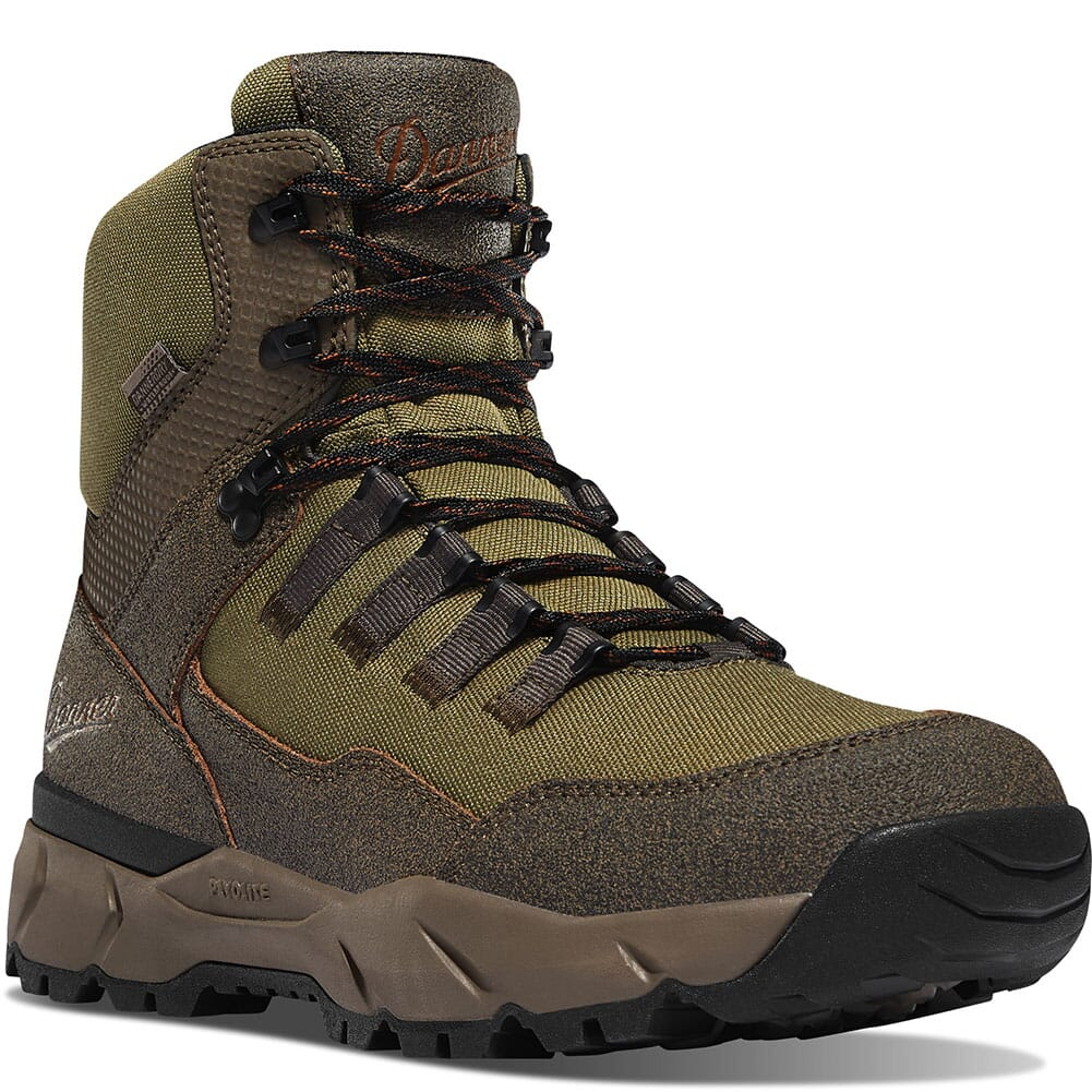 Image for Danner Men's Vital Trail WP Hiking Boots - Brown/Olive from bootbay
