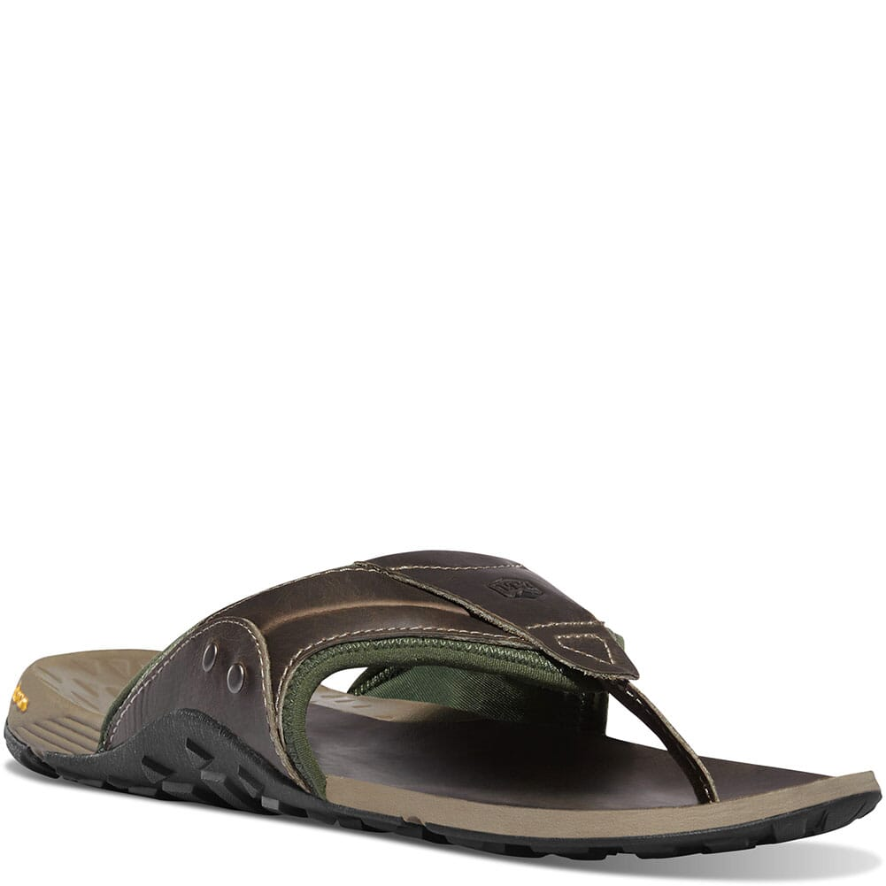 Image for Danner Men's Lost Coast Sandals - Gray/Kombu Green from bootbay