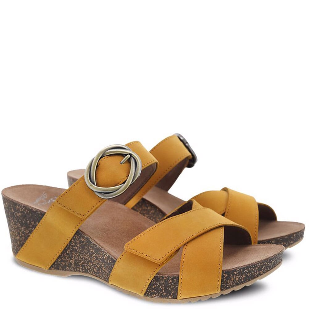Image for Dansko Women's Susie Sandals - Mango from elliottsboots