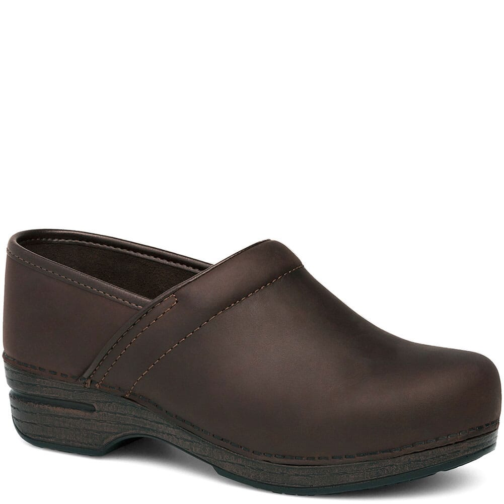 Image for Dansko Women's PRO XP Work Clogs - Brown from elliottsboots