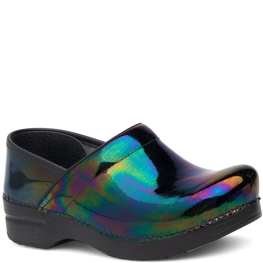 Image for Dansko Women's Professional Clogs - Petrol Patent from elliottsboots