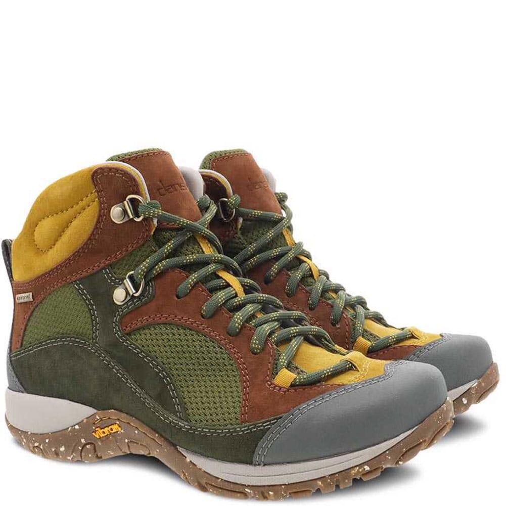 Image for Dansko Women's Posy WP Hiking Boots - Pine from elliottsboots