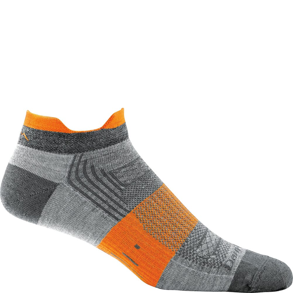 Image for Darn Tough Men's Juice No Show Tab Light Cushion Socks - Grey from bootbay