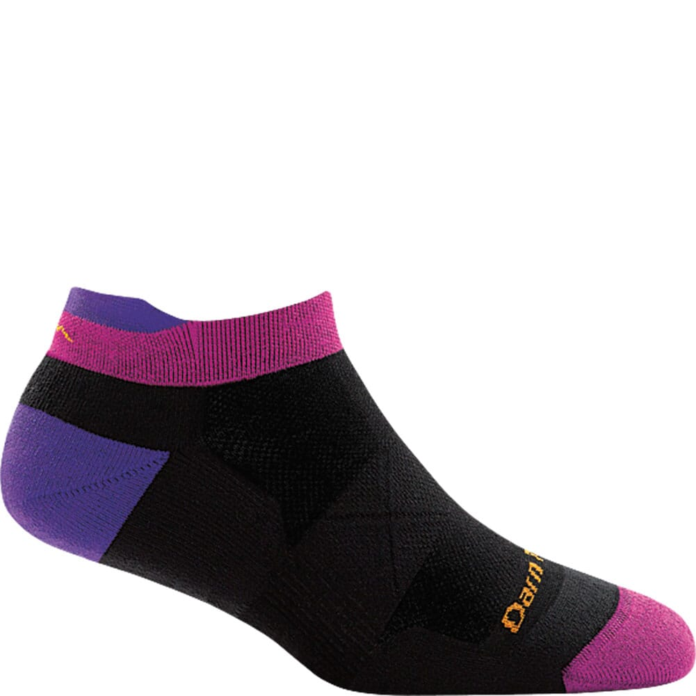 Image for Darn Tough Women's Vertex No Show Tab Ultra-Light Socks - Black from bootbay
