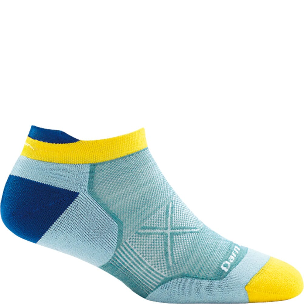 Image for Darn Tough Women's Vertex No Show Tab Ultra-Light Socks - Light Blue from bootbay