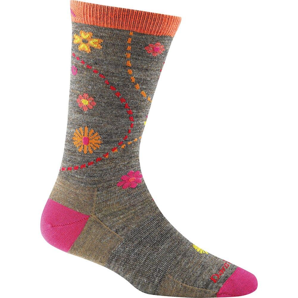 Image for Darn Tough Women's Garden Crew Light Socks - Taupe from bootbay