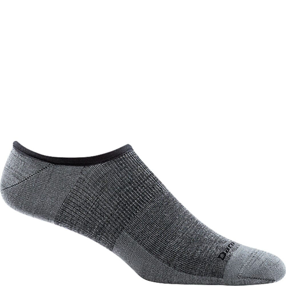 Image for Darn Tough Men's Topless Solid No Show Hidden Socks - Gray from bootbay
