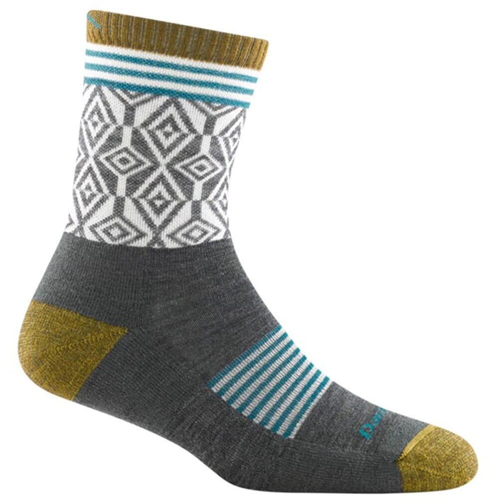 Image for Darntough Women's Sobo Micro Crew Light Cushion Socks - Grey from bootbay