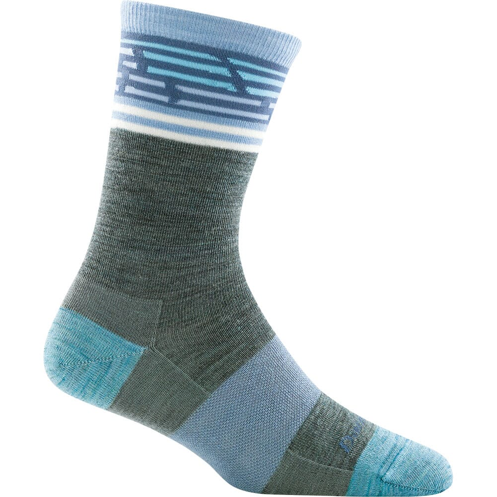 Image for Darn Tough Women's Fraggle Crew Light Socks - Seafoam from bootbay