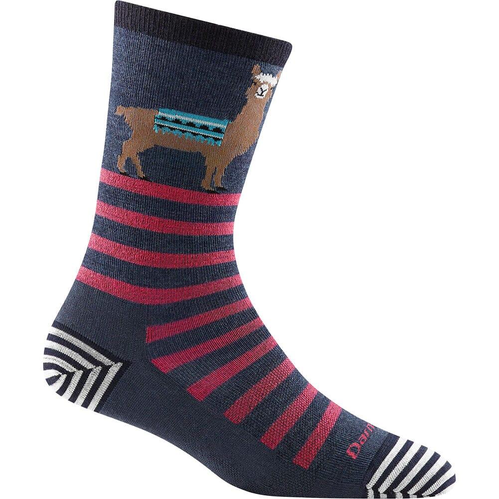 Image for Darntough Women's Animal Haus Crew Light Socks - Denim from bootbay
