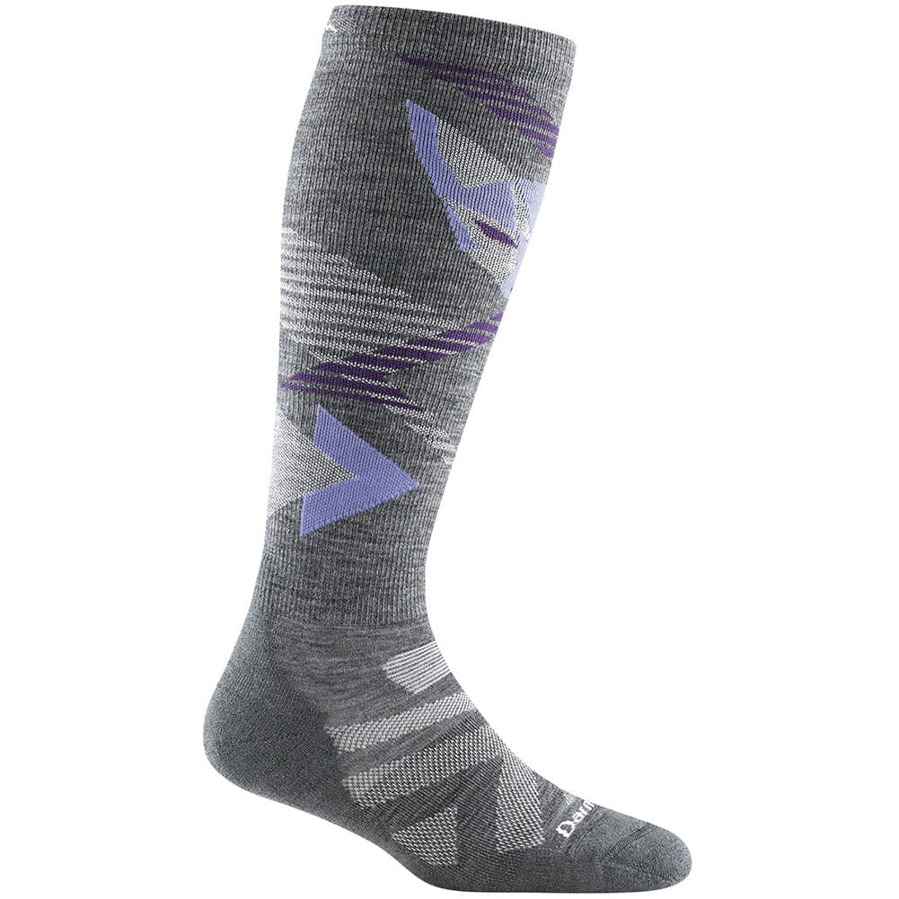 Image for Darntough Women's Juniper Over-The-Calf Cushion Socks - Gray from bootbay