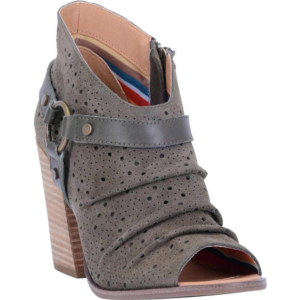 Image for Dingo Women's Spurs Casual Shoes - Olive from bootbay
