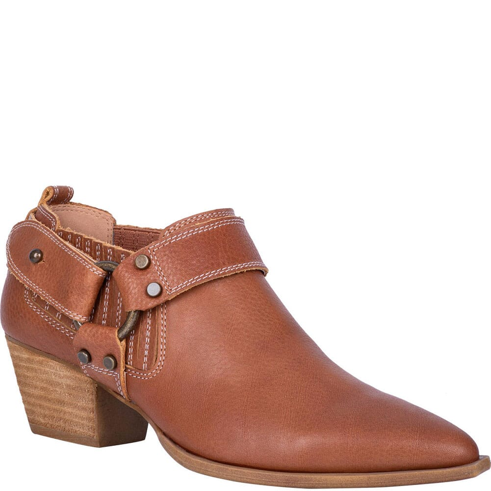 Image for Dingo Women's Kickback Casual Boots - Cognac from bootbay
