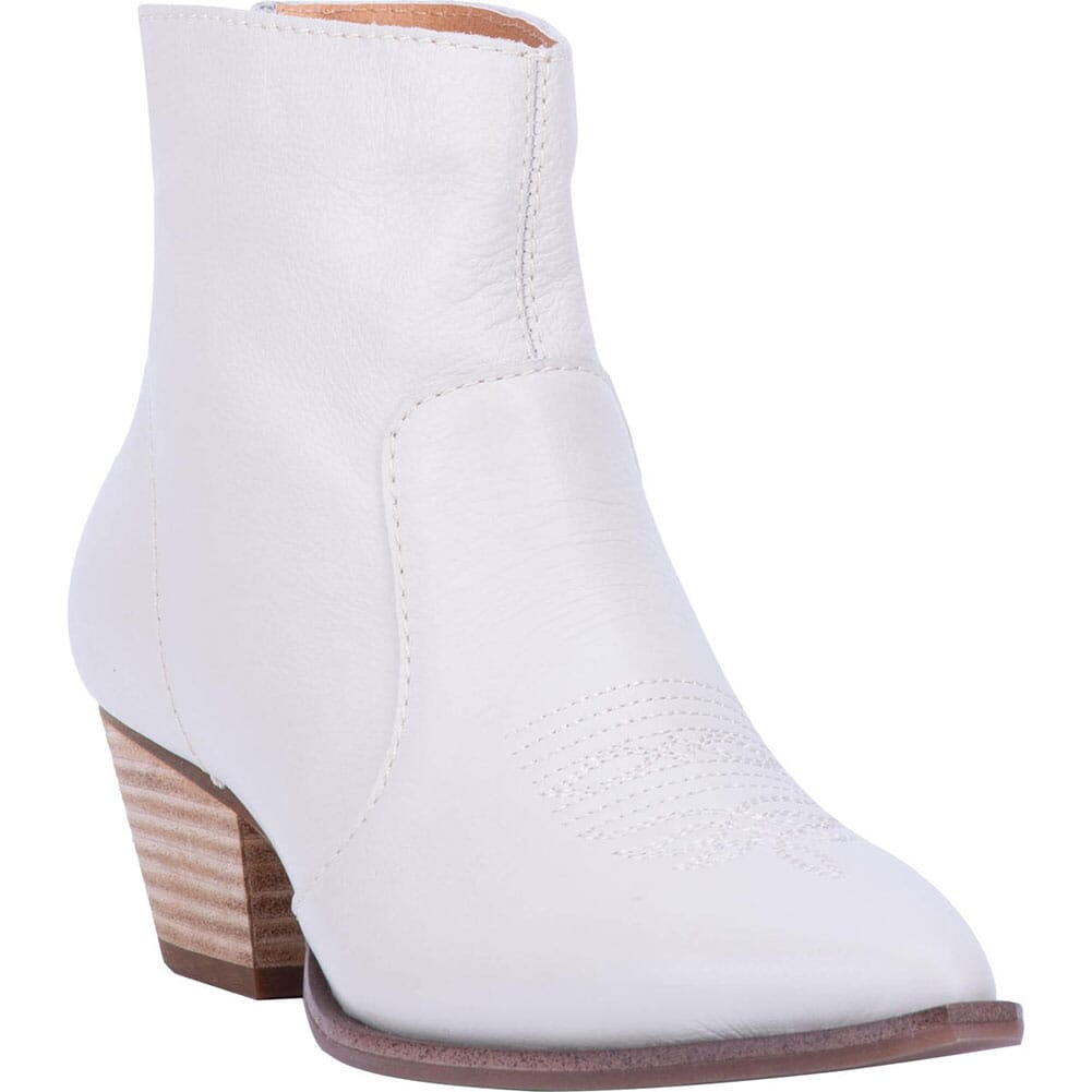 Image for Dingo Women's Klanton Western Boots - Off White from bootbay