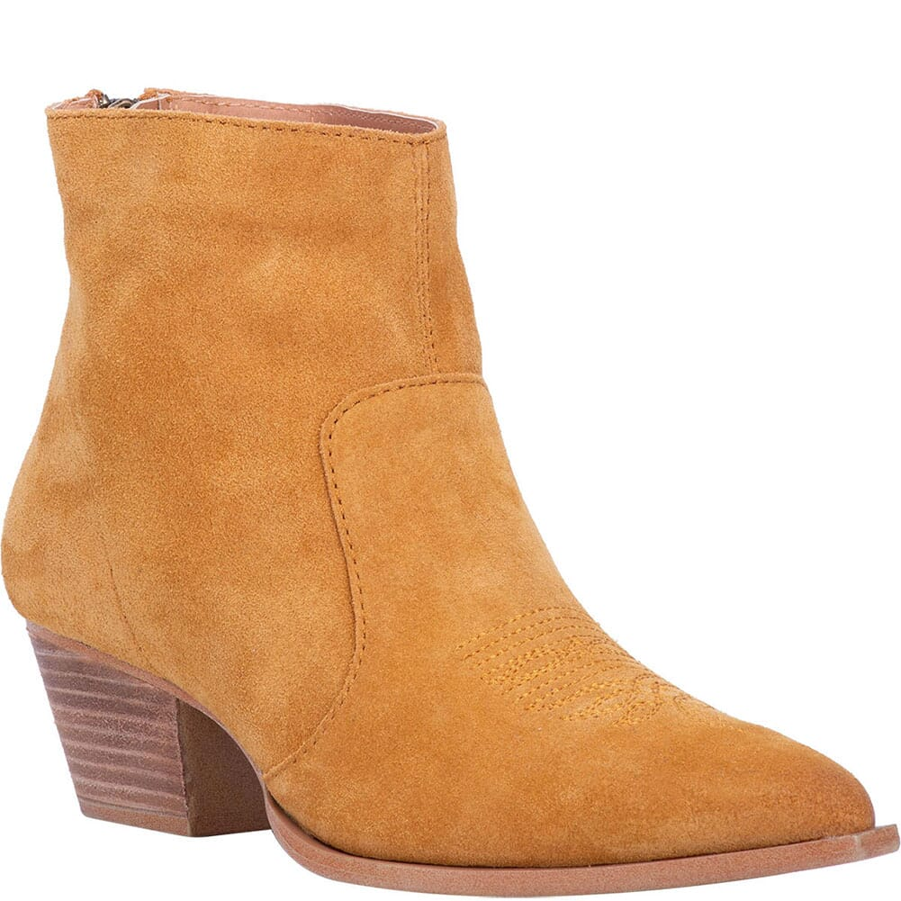 Image for Dingo Women's Klanton Western Boots - Mustard from bootbay