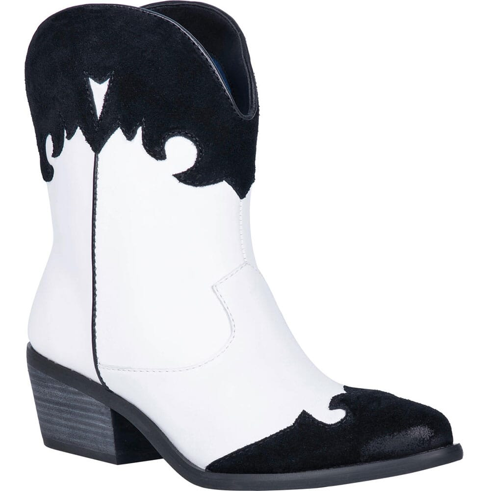 Image for Dingo Women's Go For It Western Boots - Black/White from bootbay