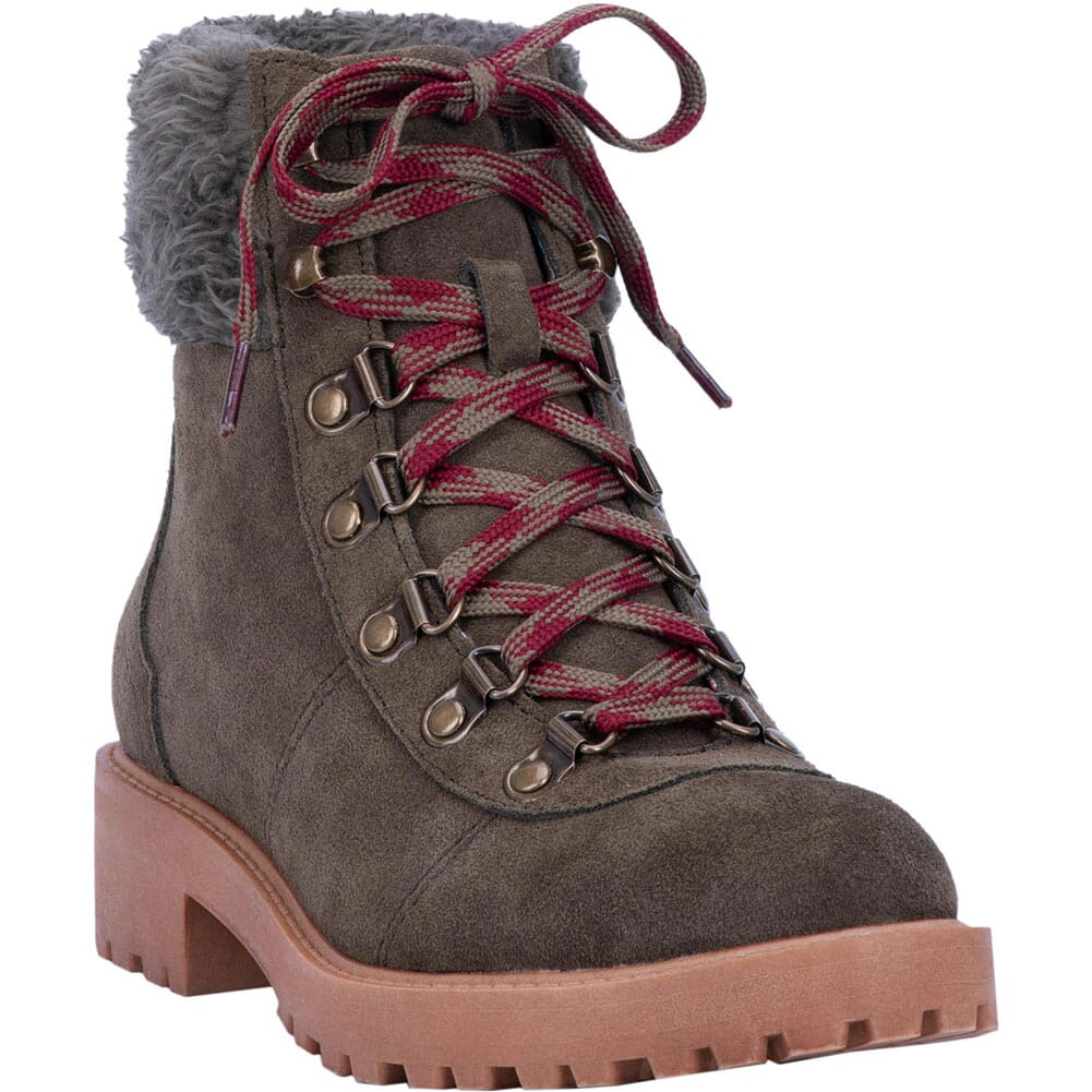 Image for Dingo Women's Telluride Casual Boots - Olive from bootbay